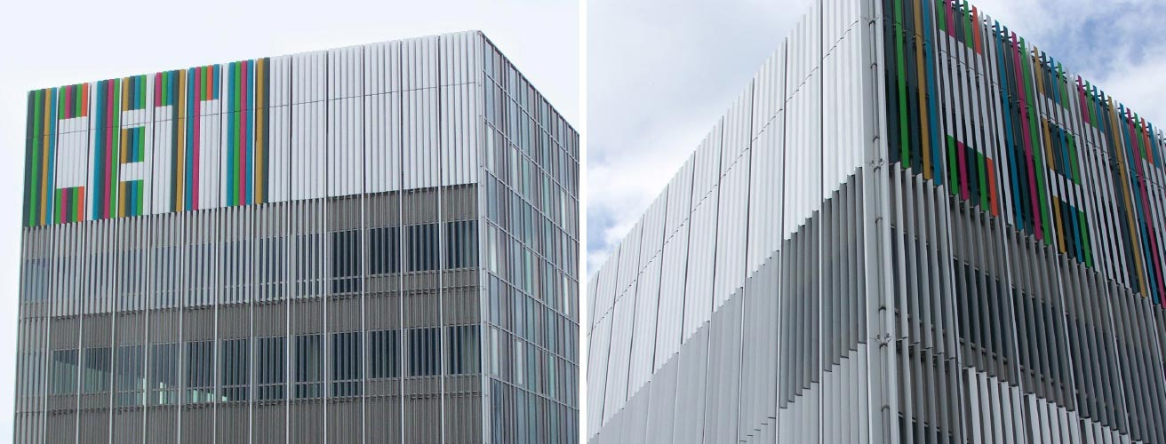 A New Quot Vertically Quot Aligned Building For Research And